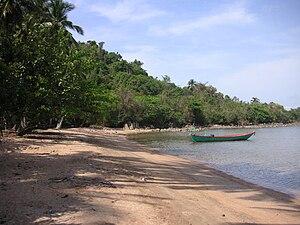 Kep Province - Koh Thonsay's beach