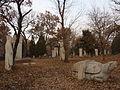 Kong Hongxu - bixi, men and tombstone - seen from SW - P1060172.JPG