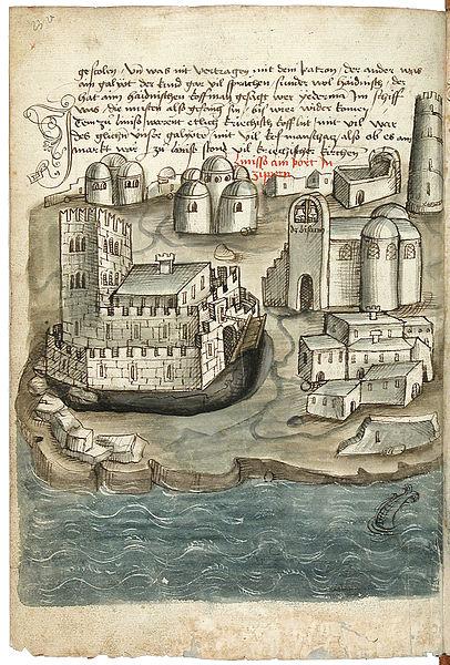 File:Konrad von Grünenberg - Beschreibung der Reise von Konstanz nach Jerusalem - Blatt 23v - 052.jpg