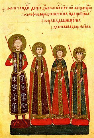 Konstantin Dejanović - Konstantin Dejanović, Kera-Tamara, Kerica, Desislava