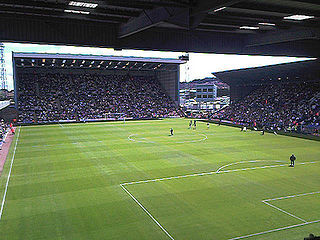 Prenton Park football stadium