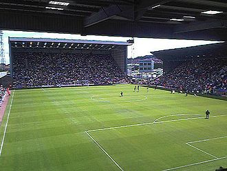 Prenton Park - Image: Kop and mainstand