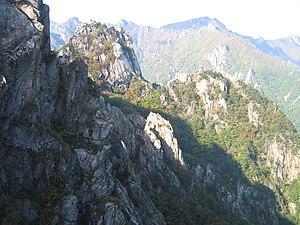 Seoraksan - Image: Korea Seoraksan