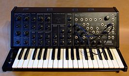 De Korg MS-20 monofone synthesizer