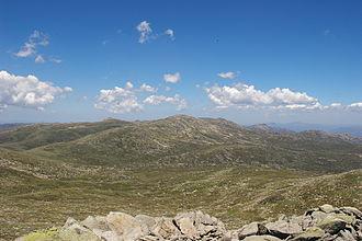 Main Range (Snowy Mountains) - Image: Kosciuszko Townsend