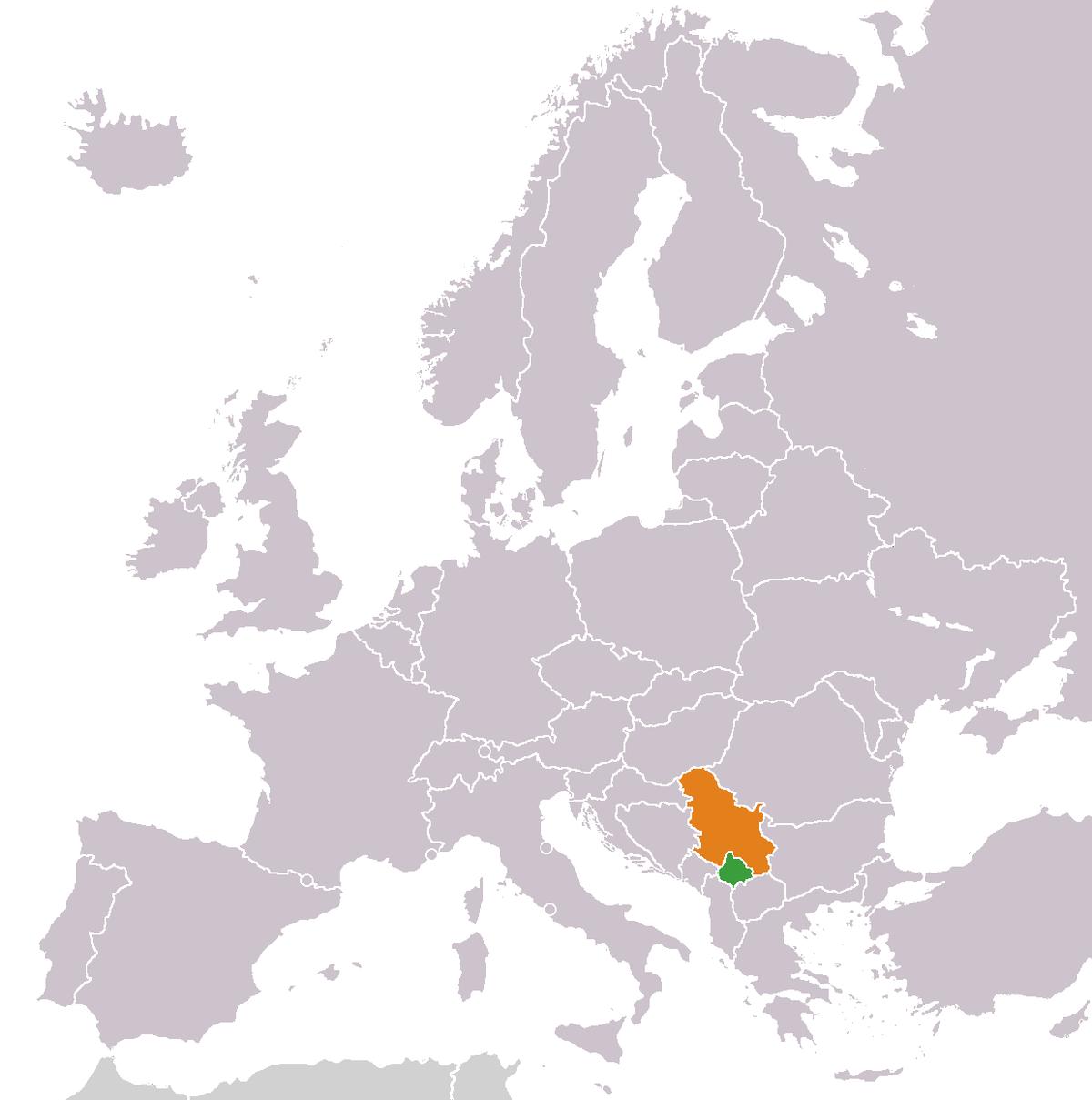 KosovoSerbia relations Wikipedia