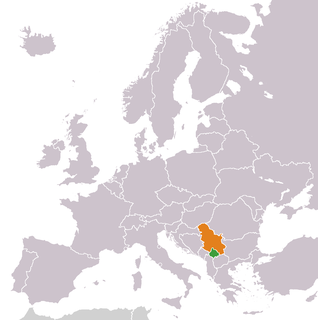 Diplomatic relations between Kosovo and the Republic of Serbia