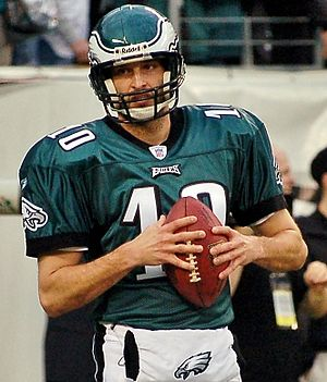 Koy Detmer - Detmer before the Eagles' 2006–07 NFC Wild Card game