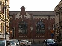Krakow old power station,25 sw. Wawrzynca street,Kazimierz, Krakow,Poland.JPG