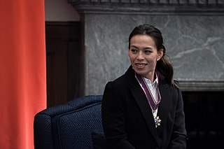 Kuo Hsing-chun Taiwanese weightlifter