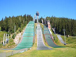 Kuopio Ski Jumps at Puijo.jpg