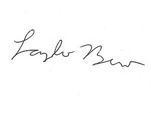 László Bíró - Image: László Bíró (pen BIC) signature)