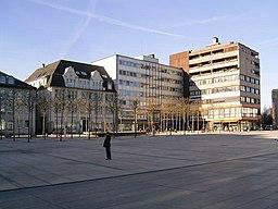 Rathausplatz in Lüdenscheid
