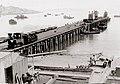 Lüderitzbucht, Deutsch-Südwestafrika. The newly finished pier with an Illing locomotive, February 1908, photograph by de Meillon.jpg