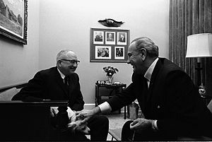 James Eastland - Senator Eastland with President Lyndon B. Johnson in 1968.