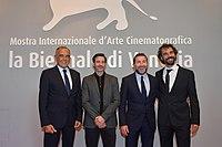 La Noche de 12 Años - Venice Film Festival (Alvaro Brechner, Antonio de la Torre, Alfonso Tort, Alberto Barbera).jpg