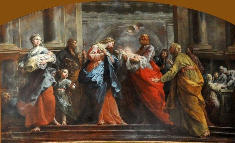 File:La Présentation du Christ au temple - Restout.JPG