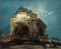 La ciudad sobre la roca, por Eugenio Lucas Velázquez.jpg