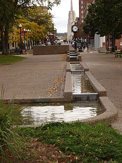 Water Fountain in Downtown La Crosse