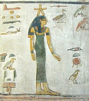 Sopdet - Image: La tombe de Sethi 1er (KV.17) (Vallée des Rois, Thèbes ouest) 8