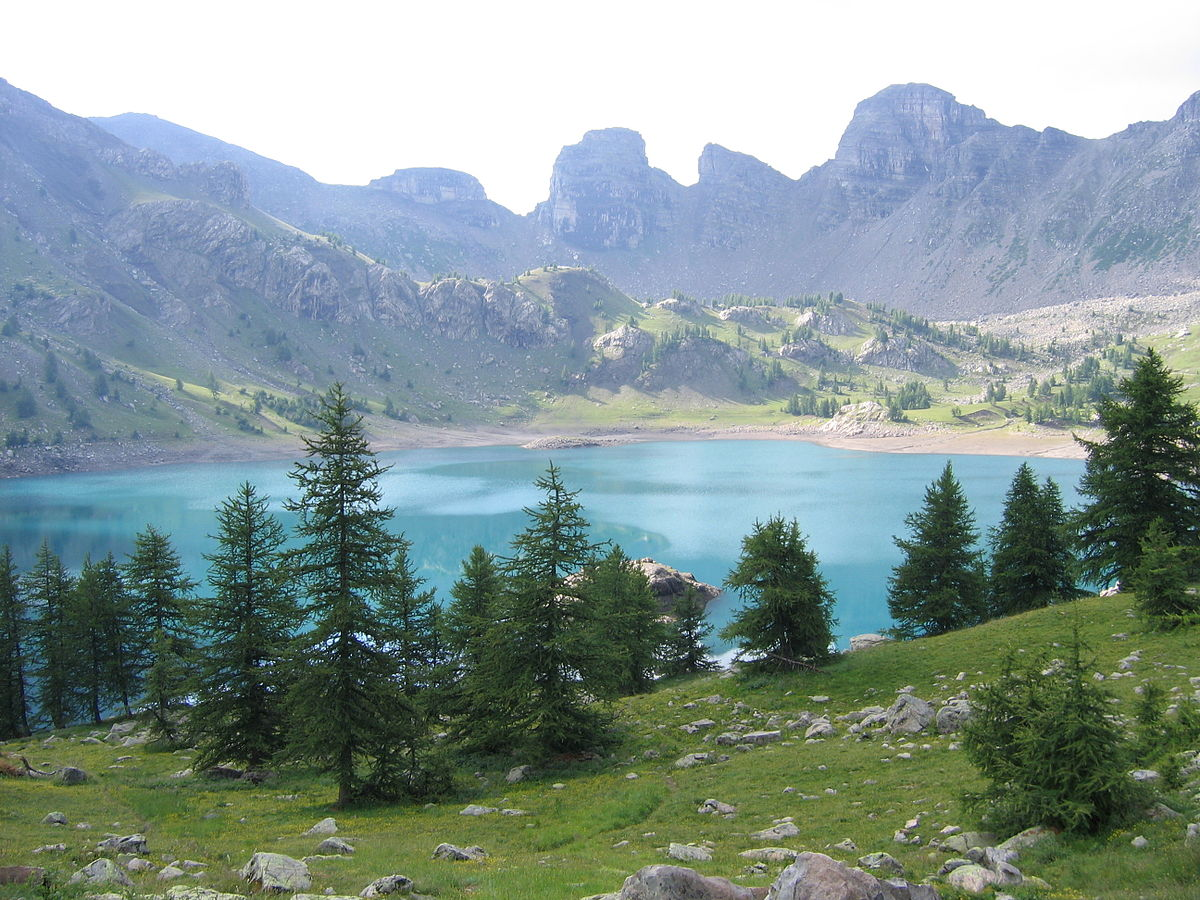 Lac d 39 allos wikip dia - Bassin naturel baignade fort de france ...