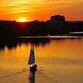Lady Bird Lake sunset.JPG