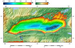 Mapa batymetryczna jeziora Ontario.png