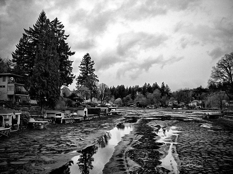 File:Lake Oswego, Oregon Drained.jpg
