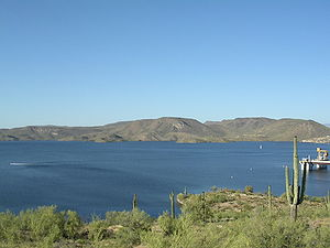 Lake Pleasant Regional Park - Image: Lake Pleasant Arizona