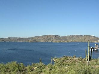 Lake Pleasant Regional Park - Image: Lake Pleasant Arizona