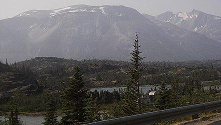 Lake from Klondike Highway, British Columbia.jpg