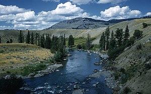 Lamar River - Image: Lamar River 1959