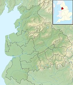 Winter Hill is located in Lancashire