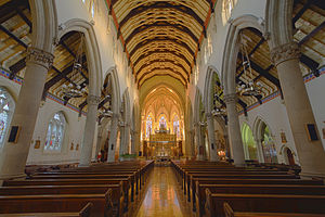 Lancaster Cathedral - Image: Lancaster Cathedral HDR (8265496414)