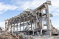 Lancaster Park during demolition, Christchurch, New Zealand.jpg