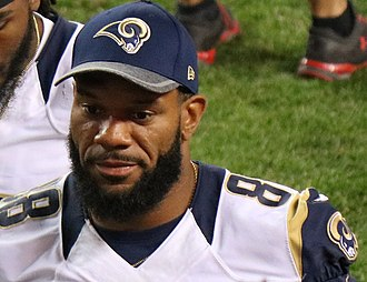 Lance Kendricks - Kendricks with the Rams in 2016.