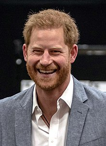 Prince Harry, Duke of Sussex - Wikipedia