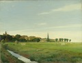 Landscape with a Town (Johan Rohde) - Nationalmuseum - 22704.tif