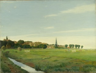 Landscape with a Town