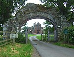Gateway arch west of Lanercost Priory