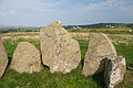 Laraghirril Court Tomb Eastern Chamber Orthostats of the Northern Side 2014 09 11.jpg