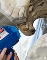 Laser Cleaning Marble of Supreme Court Facade (8592835364).jpg