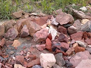 Stone laterite Borneo