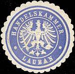 Lauban, Siegelmarke, Handelskammer.jpg