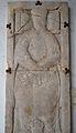 Lauda sepulcral d'un abat o prior del convent dels Agustins, Museu Muncipal de Xèrica.JPG