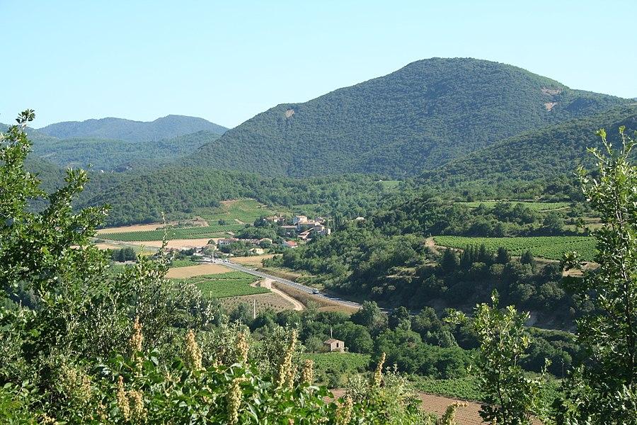 Le Pradal (Hérault) - paysage.