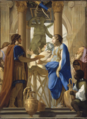 Le Sueur Camma Offers the Poisoned Wedding Cup to Synorix in the Temple of Diana.png