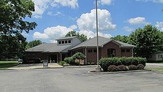 Highland County, Ohio - Image: Leesburg Ohio Library