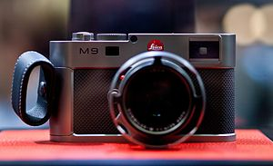 Leica M9 - The Leica M9 Titanium, designed by Walter de Silva