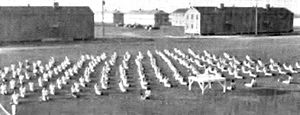 Lemoore Army Air Field - Army Air Corps Cadetes, Leemoore Army Airfield, 1944